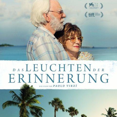 """Filmplakat von """"Das Leuchten der Erinnerung"""" mit Donald Sutherland und Helen Mirren"""