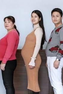 Nach sechs Monaten Diät hat sich diese Familie ziemlich verändert.
