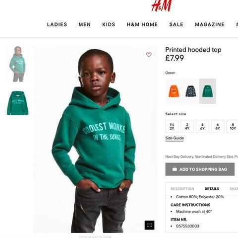 Dieser Pullover sorgt für Empörung auf Twitter.