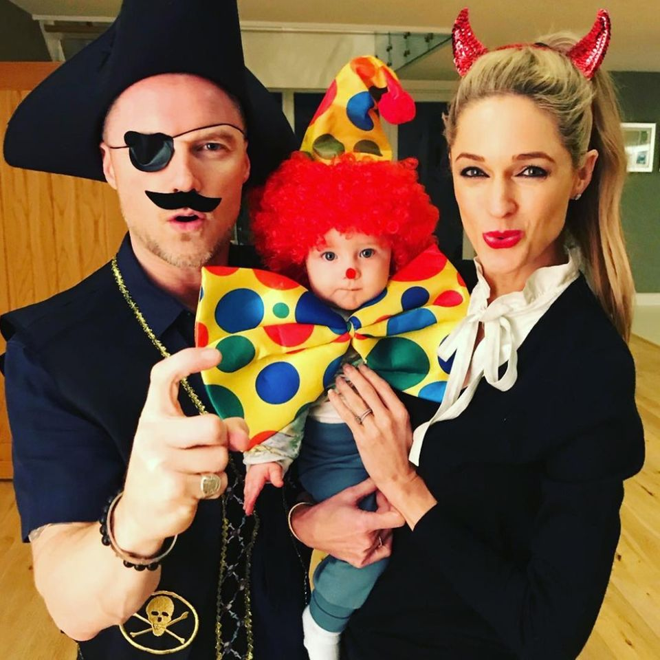 31. Oktober 2017  Happy Helloween! Familie Keating feiert in lustigen Kostümen.