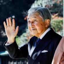 Kaiser Akihito + Kaiserin Michiko