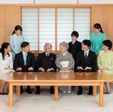 1. Januar 2018  Bitte recht freundlich: Die japanische Kaiserfamilie um Kaiser Akihito hat sich im November versammelt für das alljährliche Neujahrsfoto.