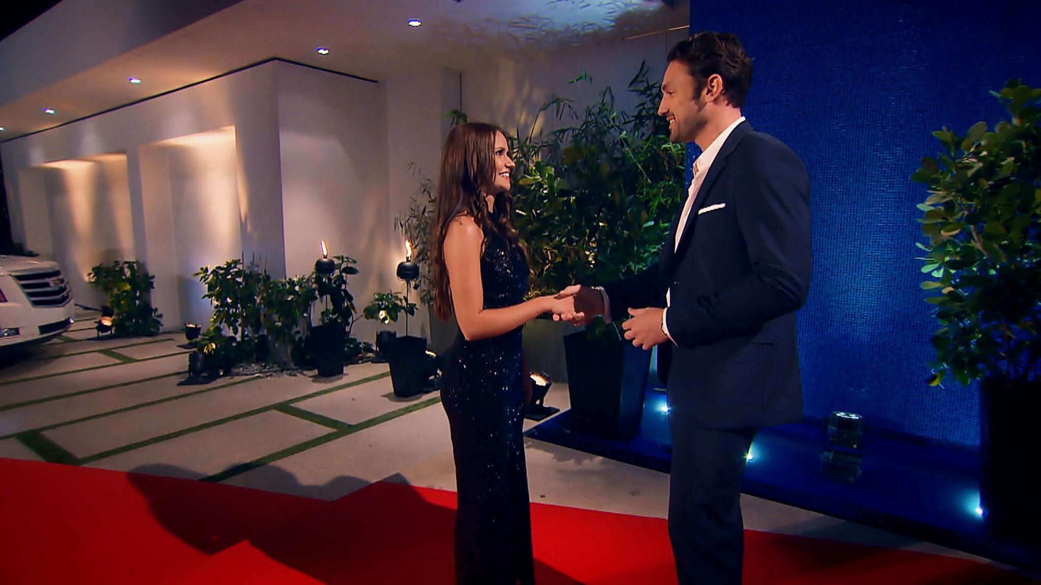 Das erste Treffen von Alina und Daniel