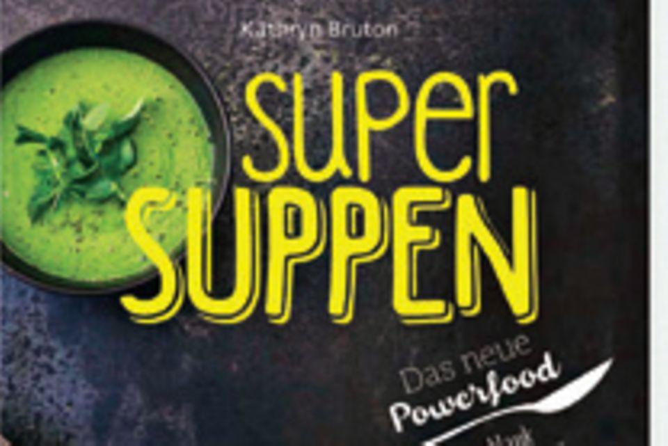 """Ob Avocado-Suppe mit Wasabi, Kokos-Limetten-Bouillon oder Breakfast Bowl – Foodstylistin und Bloggerin Kathryn Bruton hat gesunde Powersuppen entwickelt, die satt machen und fantastisch schmecken. (""""Super-Suppen"""", Fackelträger Verlag, 160 S., 18 Euro)"""