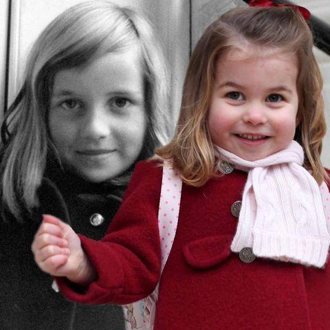 Lady Diana Spencer + Prinzessin Charlotte