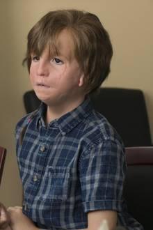 "Julia Roberts,Jacob Tremblay in ""Wunder"""