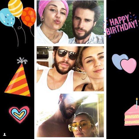 Miley Cyrus gratuliert Liam Hemsworth zum Geburtstag