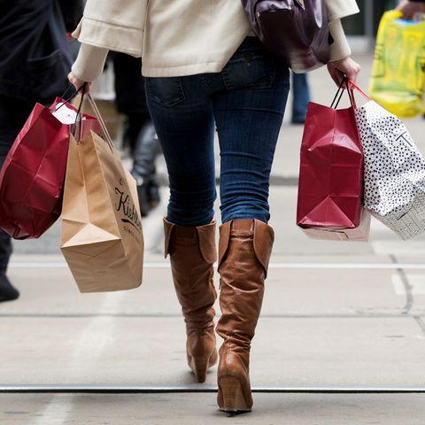 Kunden beim Shoppen