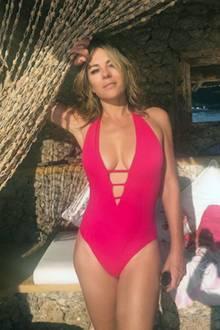 Immer wieder zeigt sich Elizabeth Hurley auf ihrem Instagram-Kanal in knapper Bademode und präsentiert dabe ihren absolut perfekten Körper - ihre 52 Jahre sieht man ihr absolut nicht an.