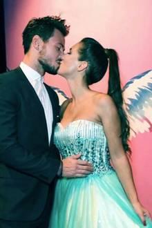 """6. Oktober 2017  Ein schöner Abend bei der """"Tribute To Bambi""""-Stiftung wird mit einem romantischen Kuss gefeiert."""