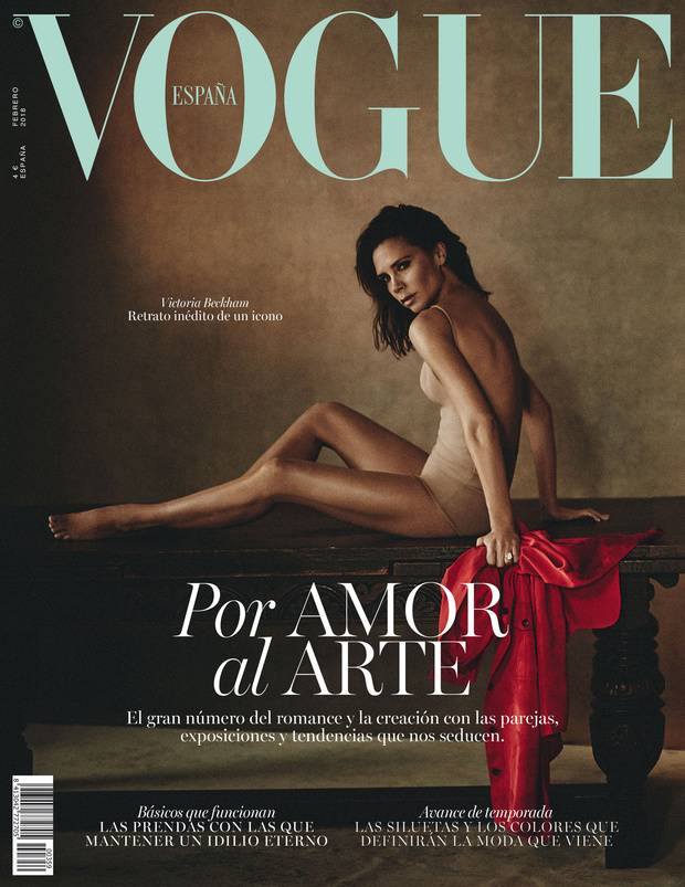 16. Januar 2018  Victoria Beckham begeistert einmal mehr die Modewelt: David Beckhams schöne Ehefrau ziert das neue Cover der spanischen Vogue.