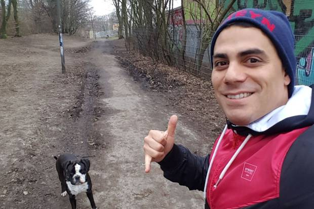 Silva Gonzalez macht Sport, um die Pfunde loszuwerden