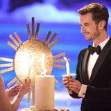 """26. November 2016  Zünd mir eine Kerze an: Helene Fischer und Florian Silbereisen bei der Livesendung """"Das Adventsfest der 100.000 Lichter""""."""