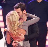 10. Januar 2015  Helene und ihr Florian küssen sich während der Show:Das große Fest der Besten.