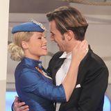 17. März 2012  Zwei, die sich wahnsinnig lieb haben: Helene und ihr Florian.