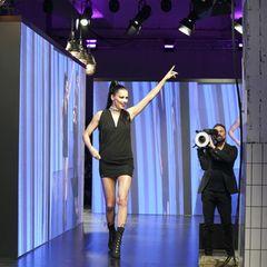 Was für eine Powerfrau: Adriana Lima war DER Stargast auf dem Urban Catwalk der Maybelline New York Show.