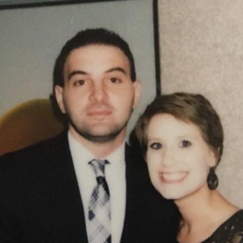 John und seine verstorbene Frau Michelle.
