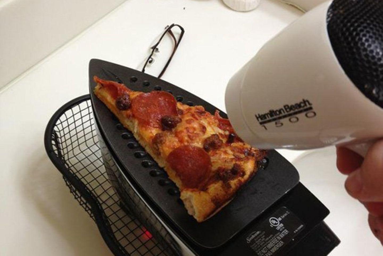 Wer Pizza will, braucht keinen Ofen.
