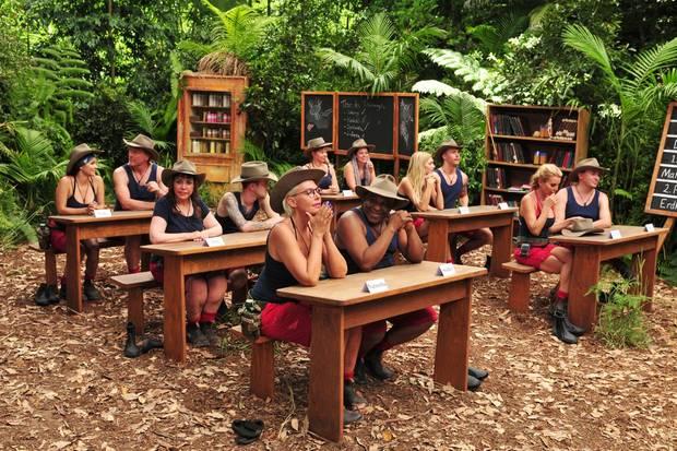 Die Camper müssen zur ersten Dschungelprüfung antreten.