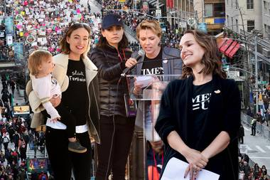 Women's March 2018: Hier protestieren die Stars!