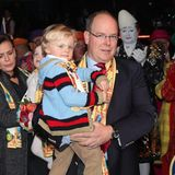 21. Januar 2018   Der 42. Internationale Zirkusfestival von Monte-Carlo ist ein voller Erfolg: Mit Prinz Jacques im Arm wird das bunte Treiben bestaunt.