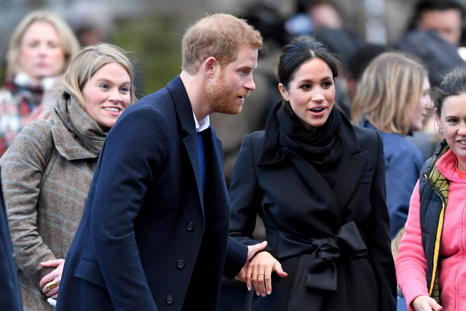 Amy Pickerill, Prinz Harry, Meghan Markle