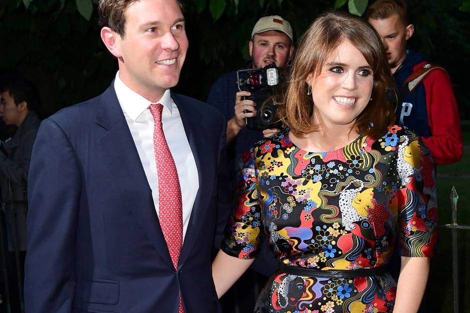 Jack Broosbank Hat Um Hand Von Prinzessin Eugenie Angehalten Und Sie Hat Ja