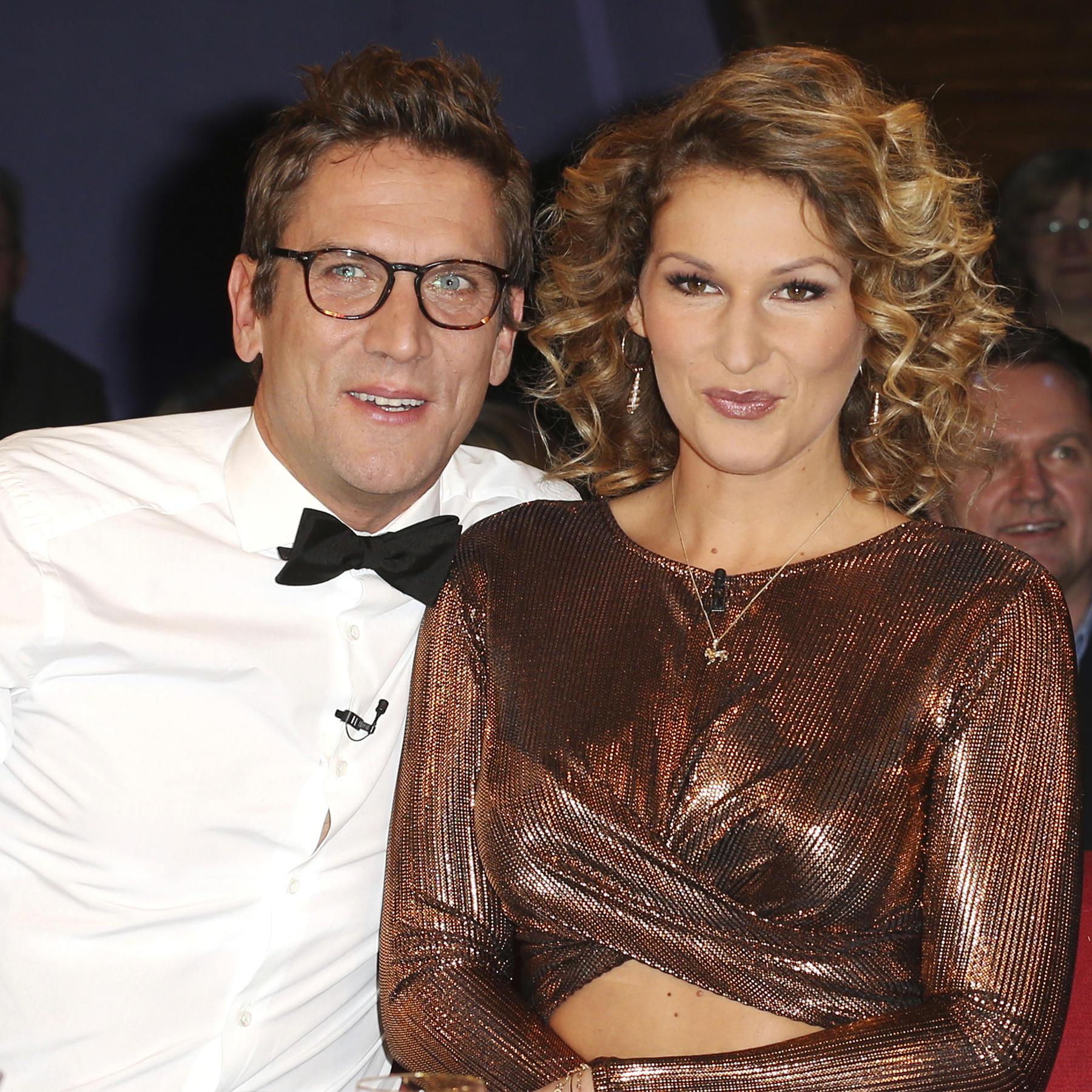 Peer Kusmagk und Janni Hönscheid.