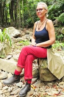 Natascha Ochsenknecht muss zu ihrer ersten Dschungelprüfung antreten.