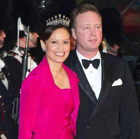 Prinz Gustav zu Sayn-Wittgenstein-Berleburg +Carina Axelsson