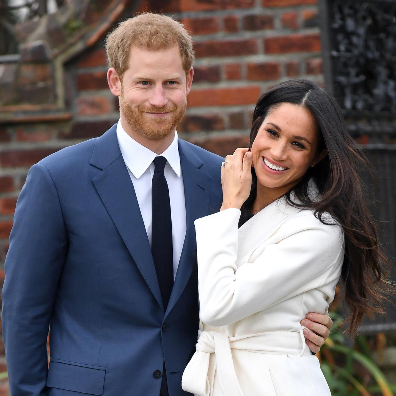 Prinz Harry + Meghan Markle