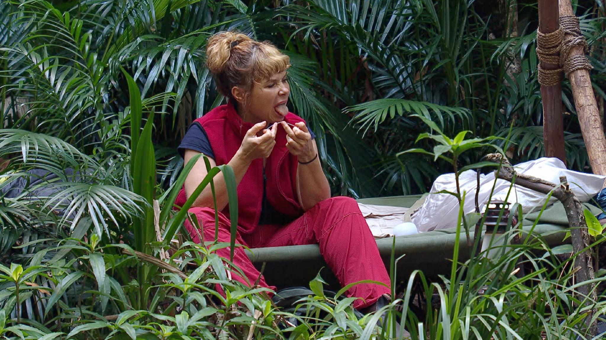 Für Sandra Steffl ist an Tag sieben das Dschungelabenteuer vorbei.