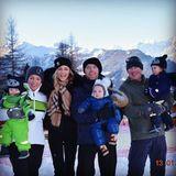 14. Januar 2018  Familienurlaub in den Bergen. Die Keating´s genießen die Zeit mit Freunden in den Bergen.