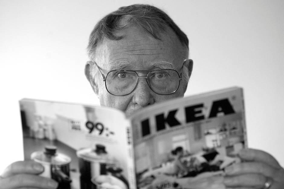 Ikea-Gründer Kamprad im Alter von 91 Jahren gestorben
