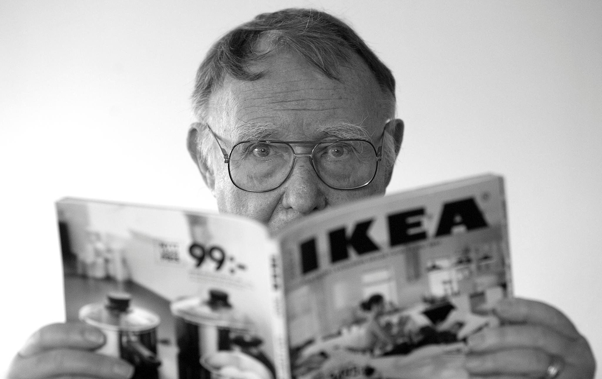 Möbel-Mogul IKEA-Gründer Ingvar Kamprad ist tot