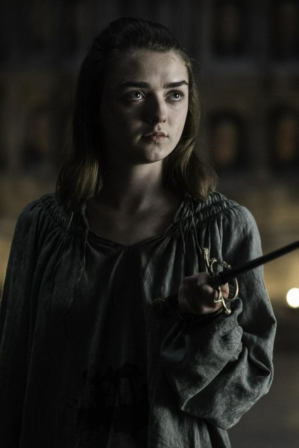 "Maisie Williams spielt Arya Stark in der Erfolgsserie ""Game of Thrones"""