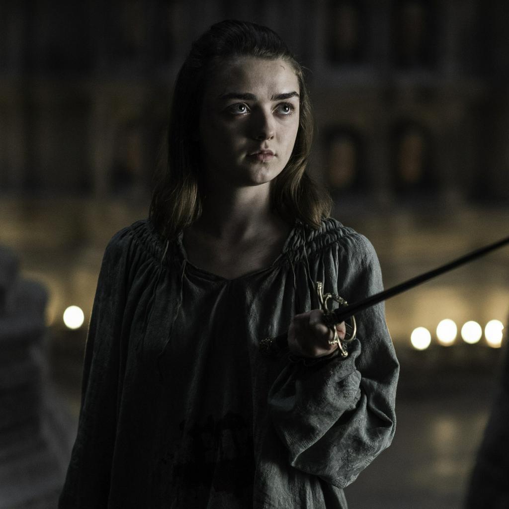 """Maisie Williams spielt Arya Stark in der Erfolgsserie """"Game of Thrones"""""""