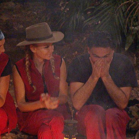 Heiratsantrag im Dschungelcamp. Sowas gab es noch nicht.
