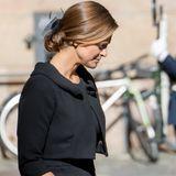 Prinzessin Madeleine hat eine Vorliebe für wahre Klassiker, die sie zu vielen Outfits tragen kann. So auch die gesteppte Clutch von Marc Jacobs, die zu einfach allem passt.