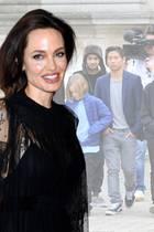 Angelina Jolie + Kinder