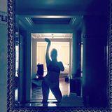 """""""Erst Reis und Bohnen... ganz viel lachen...und Bier!!!! Scherz!"""" schreibt Sandra Steffl zu diesem Instagram-Posting nach ihrem Auszug und präsentiert sichtlich stolz ihren neuen Körper."""