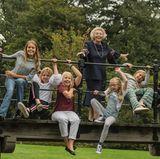 Enkelgetümmel um Prinzessin Beatrix: Die Aufnahmen entstanden im Herbst vergangenen Jahres.