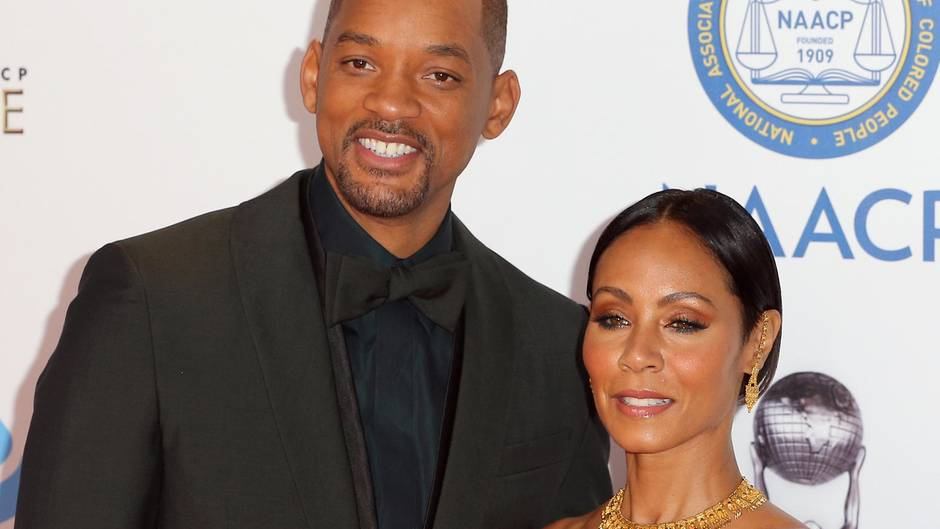Will Smith und Jada Pinkett Smith