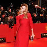 Bei der Berlinale 2012 gibt Léa Seydoux die sexy Lady in Red.