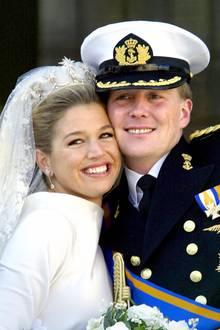 2. Februar 2018  Große Freude in den Niederlanden: Königin Máxima und König Willem-Alexander feiern ihren 16. Hochzeitstag.