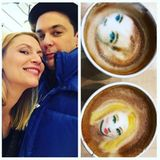 Der Barista Brian Leonard kreiert wundervolle Star-Bilder in den Milchschaum. So landen seine Latte-Art-Motive auch gerne auf den Promi-Instagram-Accounts. Auch Jim Parsons und Claire Danes sind gut getroffen.