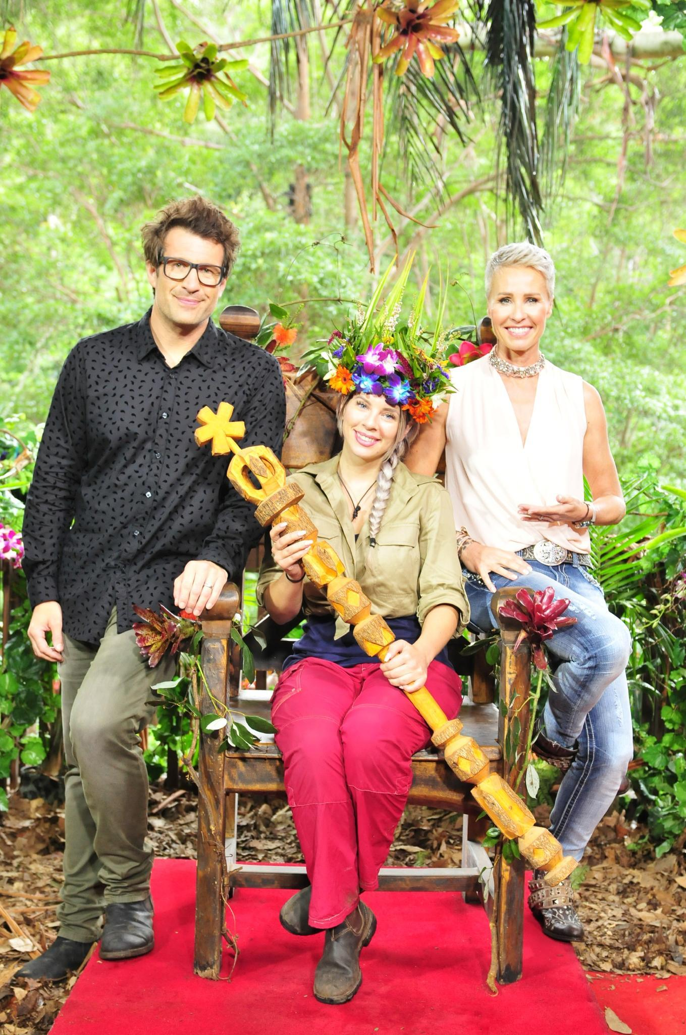 Dschungelcamp Jenny Frankhauser Gewinnt Gala De
