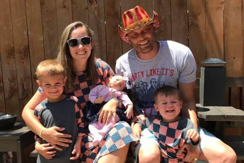 Lee Goggin und seine Familie