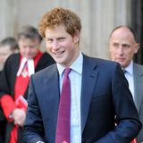 Etwas pausbäckig, aber mit dem gleichen Grinsen verdrehte der junge Prinz Harry den Frauen den Kopf.