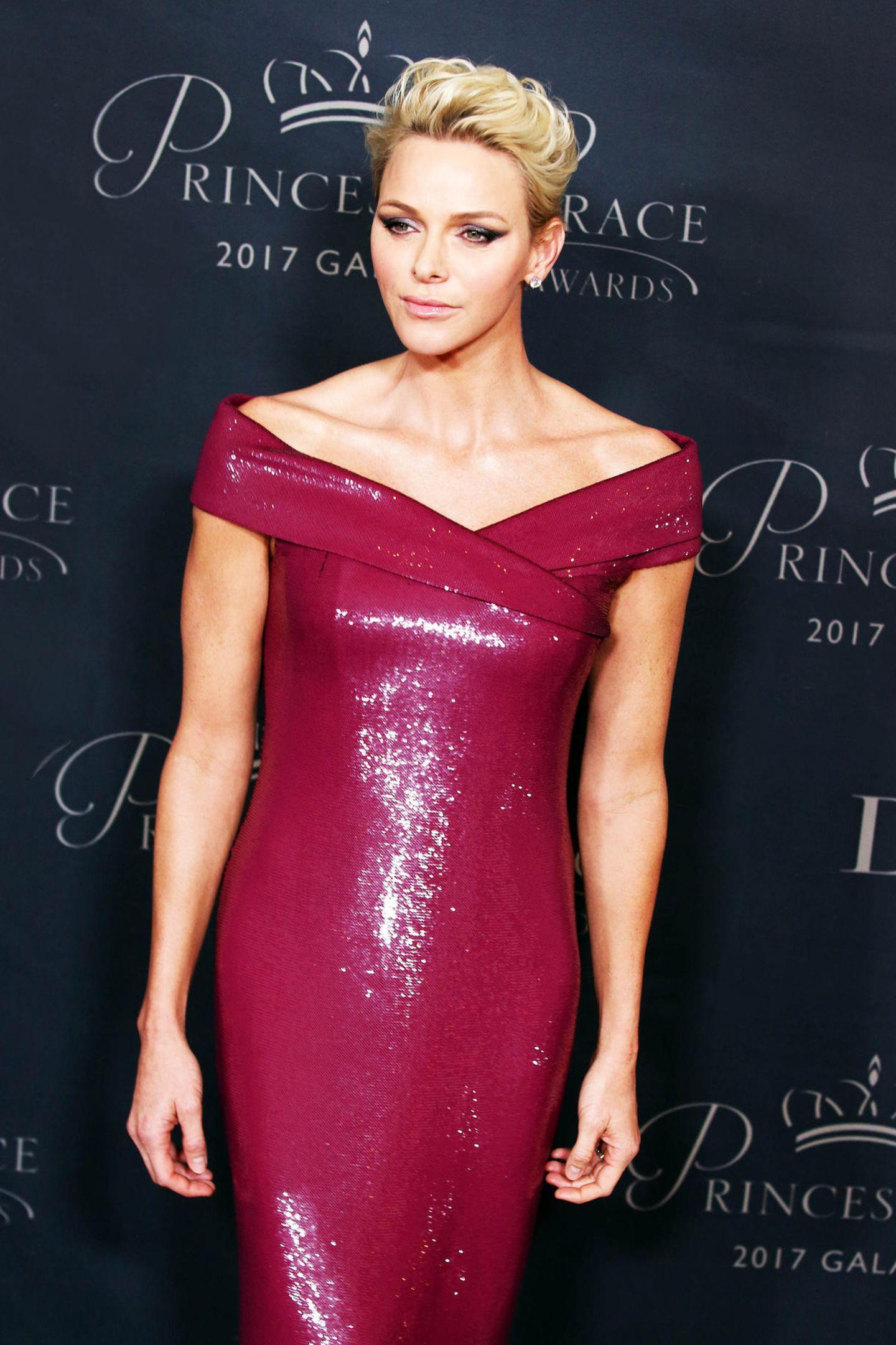 Fürstin Charlène bringt neuen Glamour nach Monaco: Die ehemalige Profi-Schwimmerin zeigt sich stets stilsicher mit Ehemann Fürst Albert II.